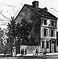 Jeffersons House, 1776 by Granger