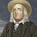 Jeremy Bentham, British Philosopher Print by Sheila Terry