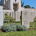 Jerusalem British war cemetery Print by Noam Armonn