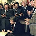 Jimmy Carter Signs Airline Deregulation by Everett