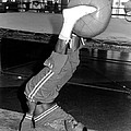 Joe Frazier In Training At The Concord by Everett