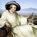 Johann Von Goethe, German Author by Smetek