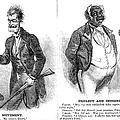 JOHN BROWN CARTOON, 1859 Print by Granger