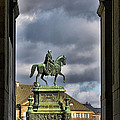 John Of Saxony Monument - Dresden Theatre Square by Christine Till