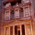 Jordan, Petra, The Treasury by Nevada Wier