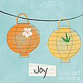 Joy Lanterns by Linda Woods