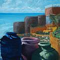 Juju Jars - Cancun by Lorraine McFarland