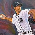 Justin Verlander Throws A Curve by Nora Sallows