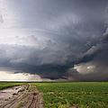 Kansas Distant Tornado Vortex 2 by Ryan McGinnis
