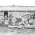 Kansas: Early House, 1854 by Granger