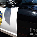 Kensington California Police Car . 7d15876 by Wingsdomain Art and Photography
