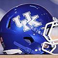Kentucky Wildcats Football Helmet by Icon Sports Media