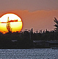 Key West Sunset by T Guy Spencer