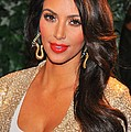 Kim Kardashian At Arrivals For Qvc Red by Everett