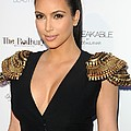 Kim Kardashian Wearing An Alexander by Everett