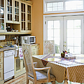 Kitchen Cabinets And Table by Andersen Ross
