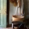 Kitchen Door in Old House Print by Jill Battaglia