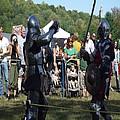 Knights Saber Fighting by Eileen Szydlowski