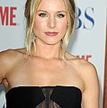 Kristen Bell At Arrivals For Cbs, The by Everett