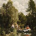 La Mare Aux Fees by Pierre Auguste Renoir
