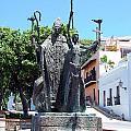 La Rogativa Sculpture Old San Juan Puerto Rico by Shawn O'Brien
