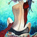Lady In Red by Jolanta Anna Karolska