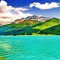 Lake Sils by Jeff Kolker