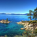 Lake Tahoe State Park Nevada Print by Scott McGuire