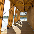 Lakeside Building And Dock by Jaak Nilson