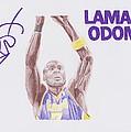 Lamar Odom by Toni Jaso
