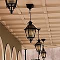 Lamps by Leslie Leda