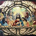 Lasy Supper Print by Iosif Ioan Chezan