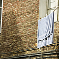 Laundry Hanging From Line, Tuscany, Italy by Paul Edmondson
