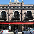 Ledson Hotel - Downtown Sonoma California - 5d19268 by Wingsdomain Art and Photography