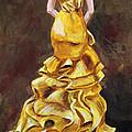 Lemon Twist Print by Jennifer Koach