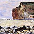 Les Petites Dalles Print by Claude Monet