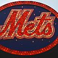 Lets Go Mets Print by Richard Bryce and Family
