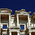 Library Of Celsus In Ephesus by Sally Weigand