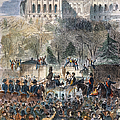 Lincoln Inauguration by Granger