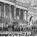 Lincolns Inauguration, 1861 by Granger