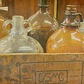 Little Brown Jugs by Jan Amiss Photography