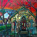 Little Church at La Villita Print by Patti Schermerhorn