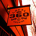 Local 360 In Orange by Kym Backland