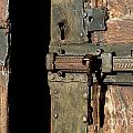 Lock Of Church. France by Bernard Jaubert