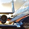 Lockheed Jet Star Side View by Lynda Dawson-Youngclaus
