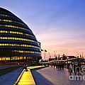 London City Hall At Night by Elena Elisseeva
