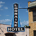 Lorraine Hotel Sign by Joshua House