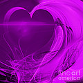 Love . Square . A120423.279 Print by Wingsdomain Art and Photography