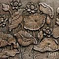 Low Relief Cement Thai Style  by Phalakon Jaisangat