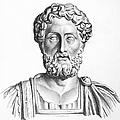 LUCIUS COMMODUS (161-192 A.D.) Print by Granger